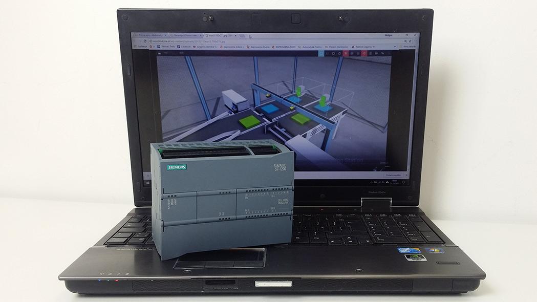 Siemens S7-1200 PLC kurs automatyki online (12)