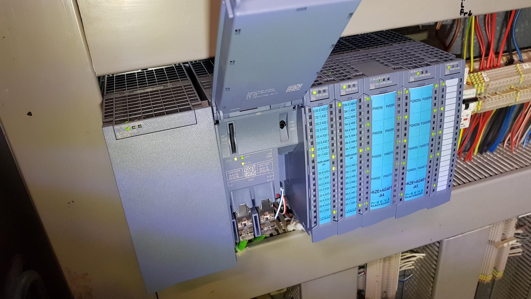 kurs PLC S7-1500 Siemens TIA PORTAL 1200 300 utrzymanie ruchu ur
