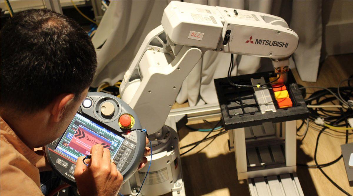 14 Szkolenie z robotyki przemyslowej mitsubishi melfa automatyka przemyslowa